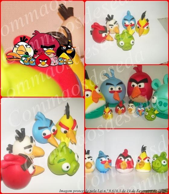 Angry Birds (Topo de bolo e lembrancinhas)