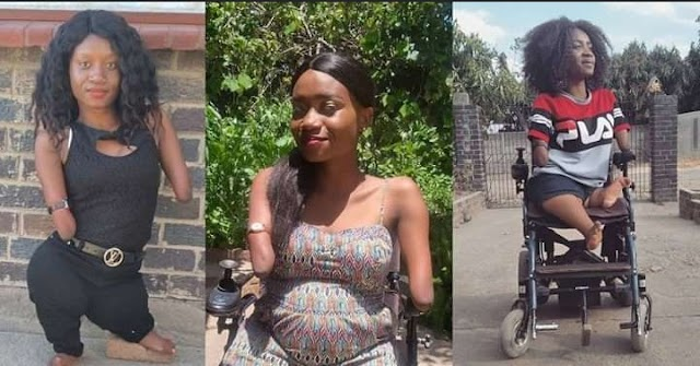 Zimbabwean motivational speaker born without limbs reveals she is pregnant as she shares baby bump photos