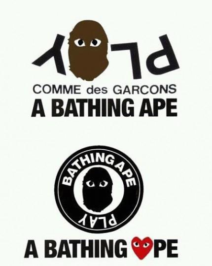 a535c16a A Bathing Ape x Comme Des Garçons PLAY Collection - First Look   Up ...