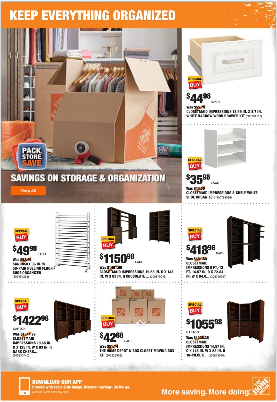 Home Depot Ad Flyer August 8 - 15, 2019