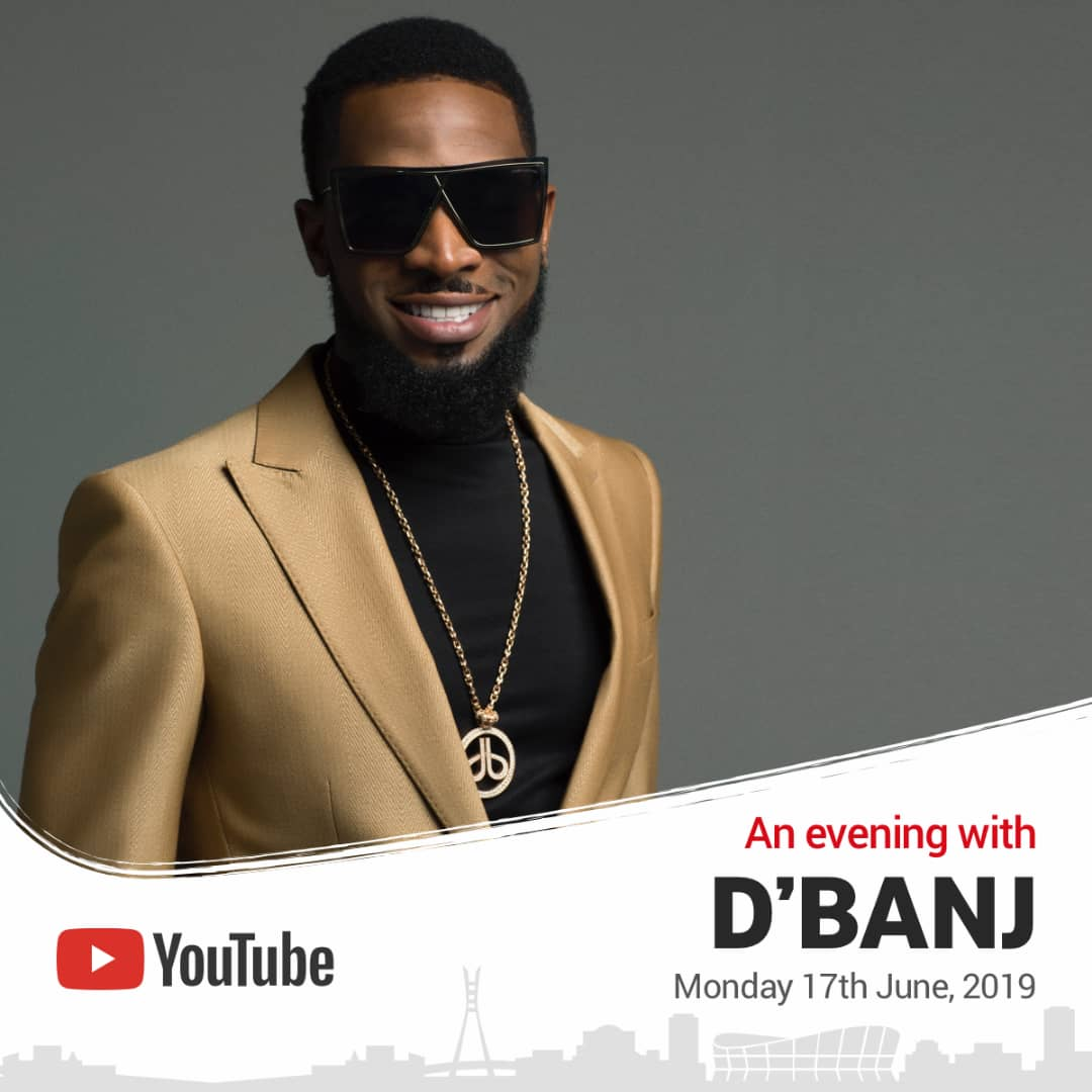 """YouTube to host """"An Evening with D'BANJ"""" at LEC"""
