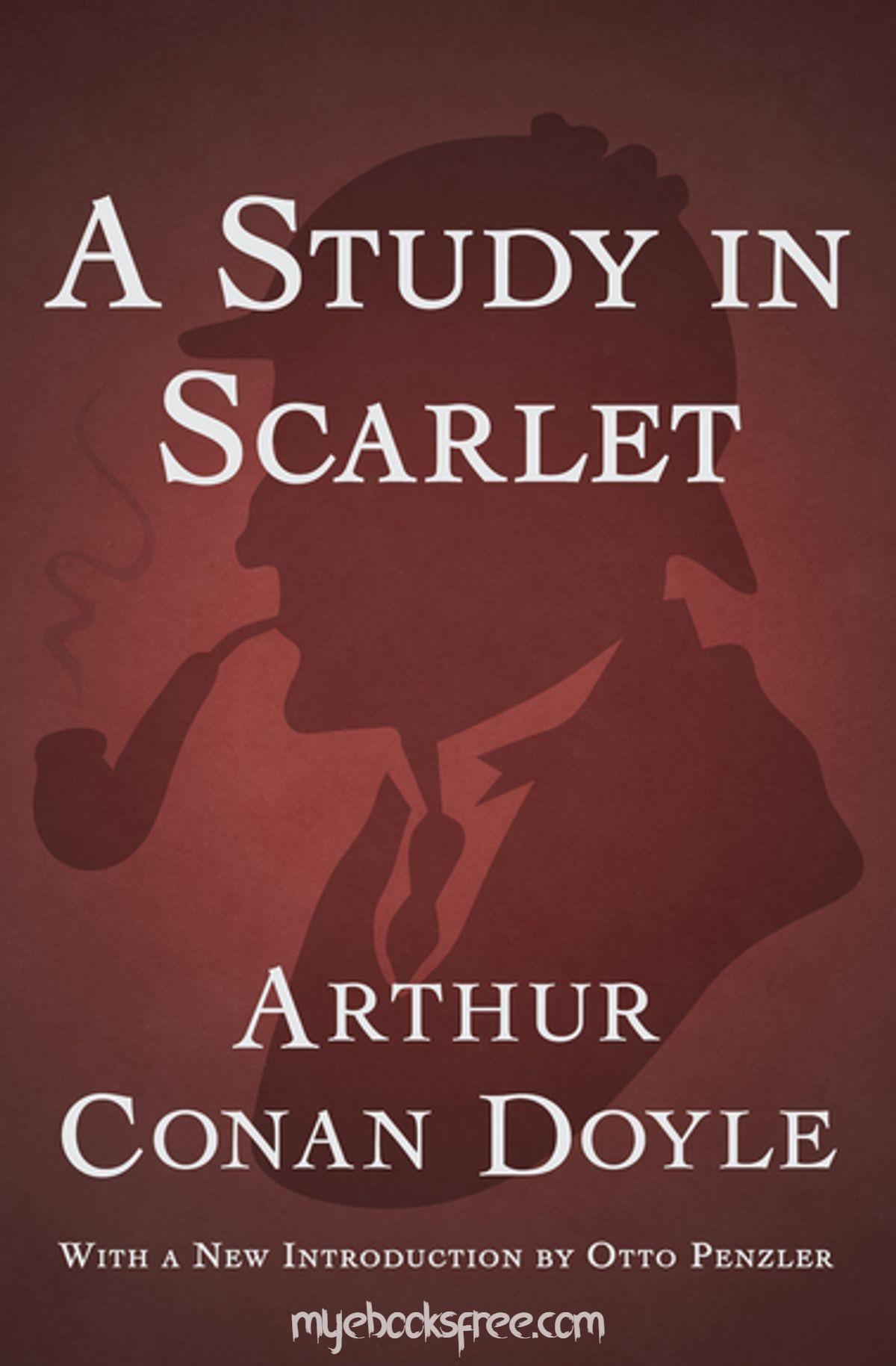 A Study in Scarlet (Sherlock Holmes, #1) By Arthur Conan Doyle Pdf Book Download