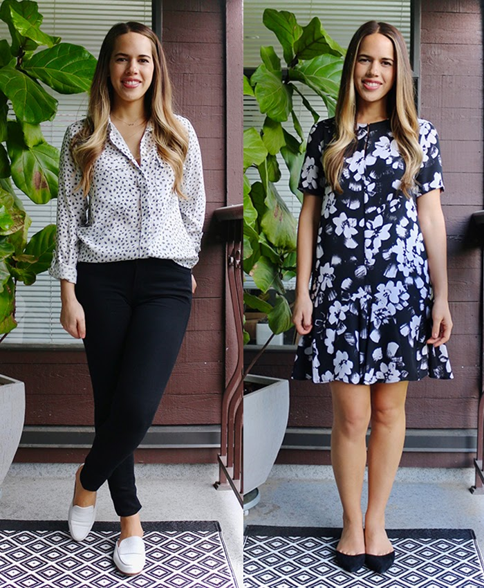 Jules in Flats - What I Wore to Work in May