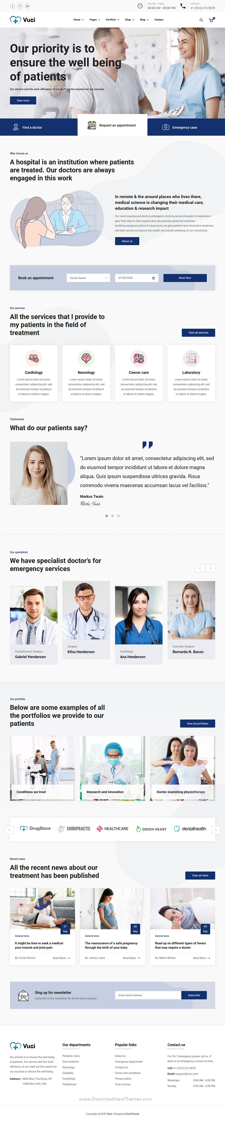 Doctor & Medical Template