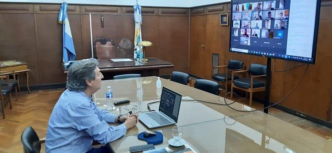 """Turismo: Emir Félix participó de la presentación del programa """"Previaje"""" y pidió equilibrar la tarifa aérea con Mendoza"""