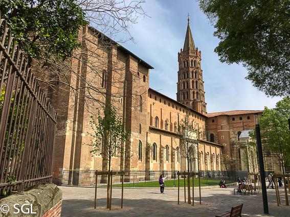 Convento Jacobinos en Toulouse, la ciudad rosa francesa