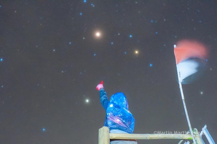 Mengapa kita bisa melihat planet di langit malam info astronomy