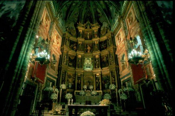Retablo Mayor del Real Monasterio de Santa María de Guadalupe, Cáceres