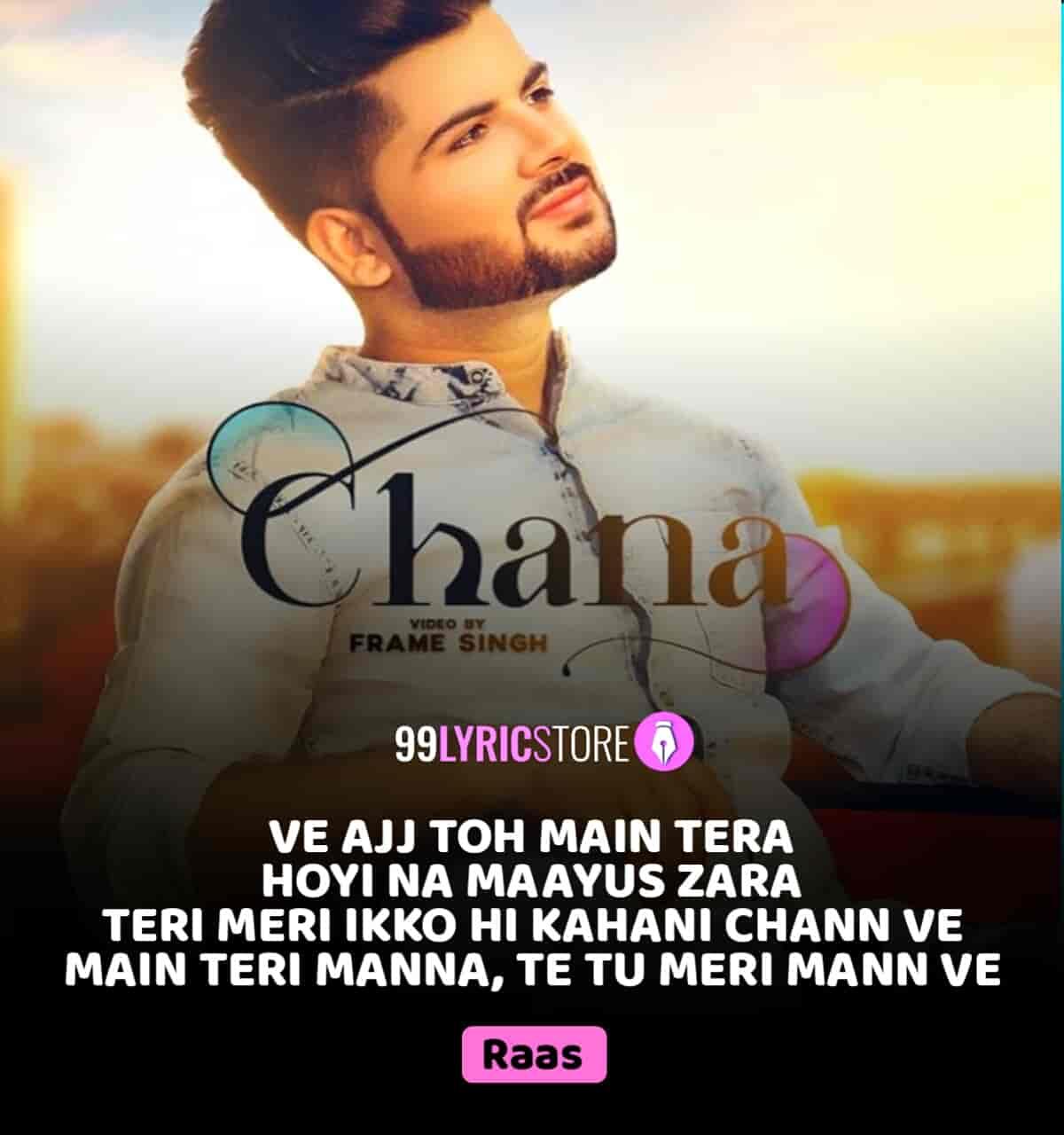 Chann Punjabi Song Sung by Johnny Vick