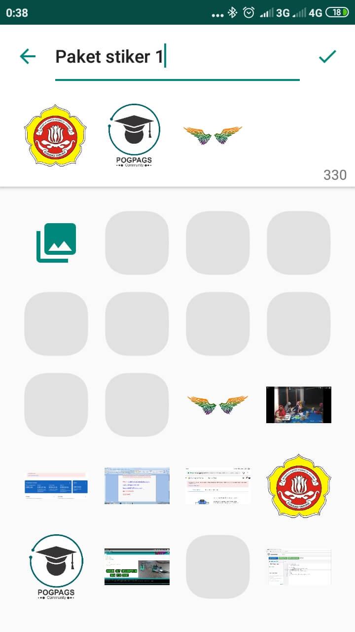 Cara Membuat Stiker WhatsApp Sendiri Menggunakan Gambar Bebas Dengan Cara Simpel