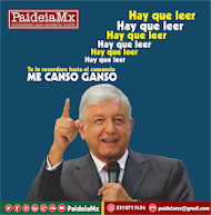 ME CANSO GANSO que desde PaideiaMx los haremos leer