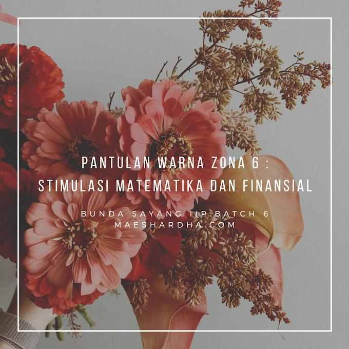 Pantulan Warna Zona 6 : Stimulasi Matematika dan Finansial
