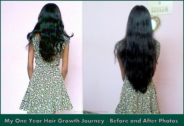 My One Year Hair Growth Journey, Hair Regime & Before and After Pictures