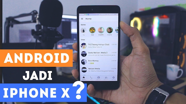 Download Aplikasi Whatsapp Apk Mod iPhone X Full New Version Asli Keren Banget