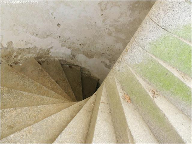 Fuerte Warren: Escaleras al Demi-Lune