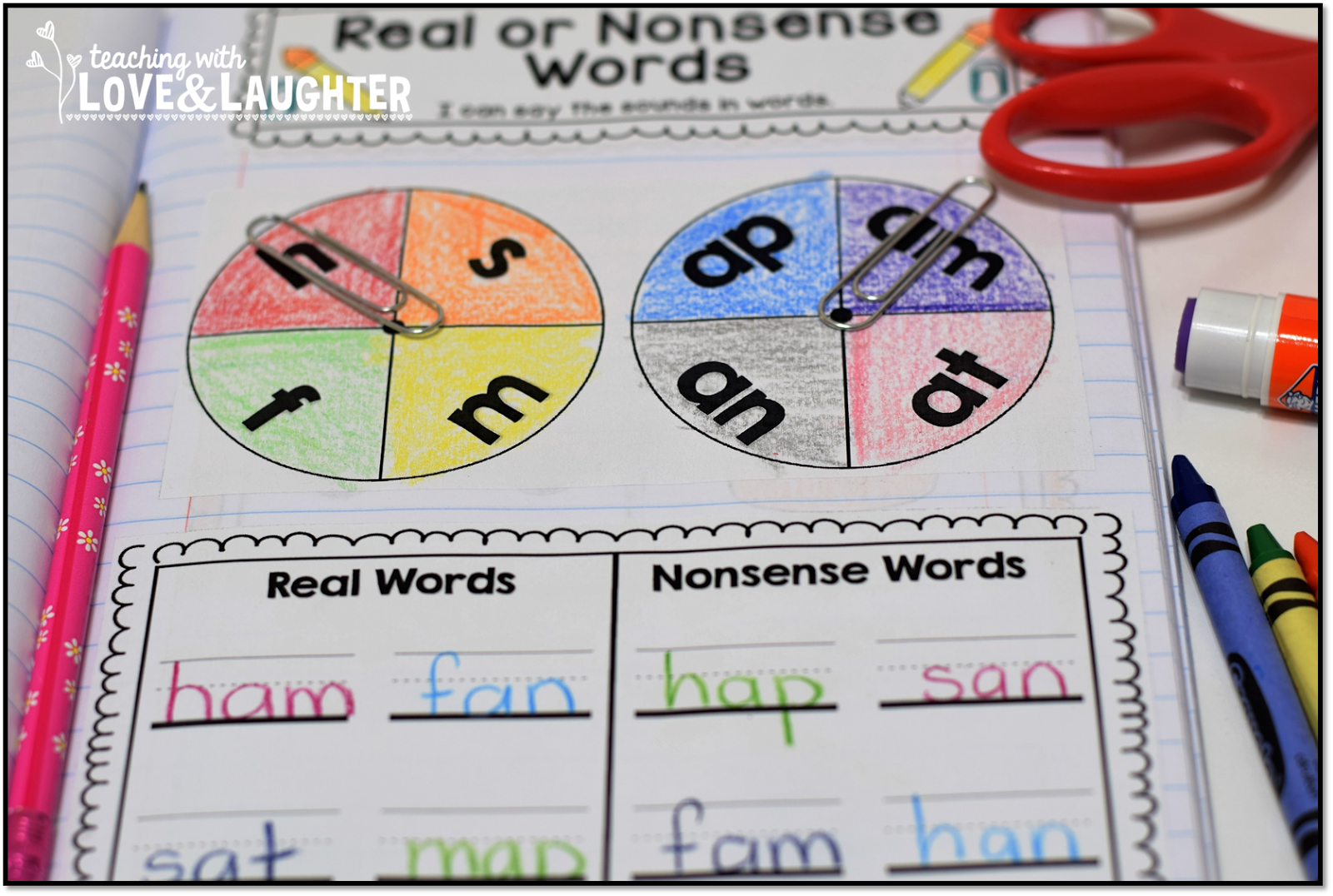 Teaching With Love And Laughter Kindergarten Phonics