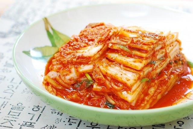 تاريخ و مقادير الأكلة الكورية Kimchi