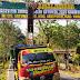 Truk Pengangkut Semen Turut Bantu Anggota Satgas TMMD Benahi Banner