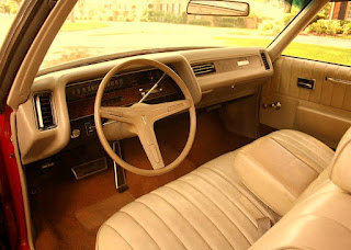 1970 Pontiac Bonneville Luxury Coupe Interior
