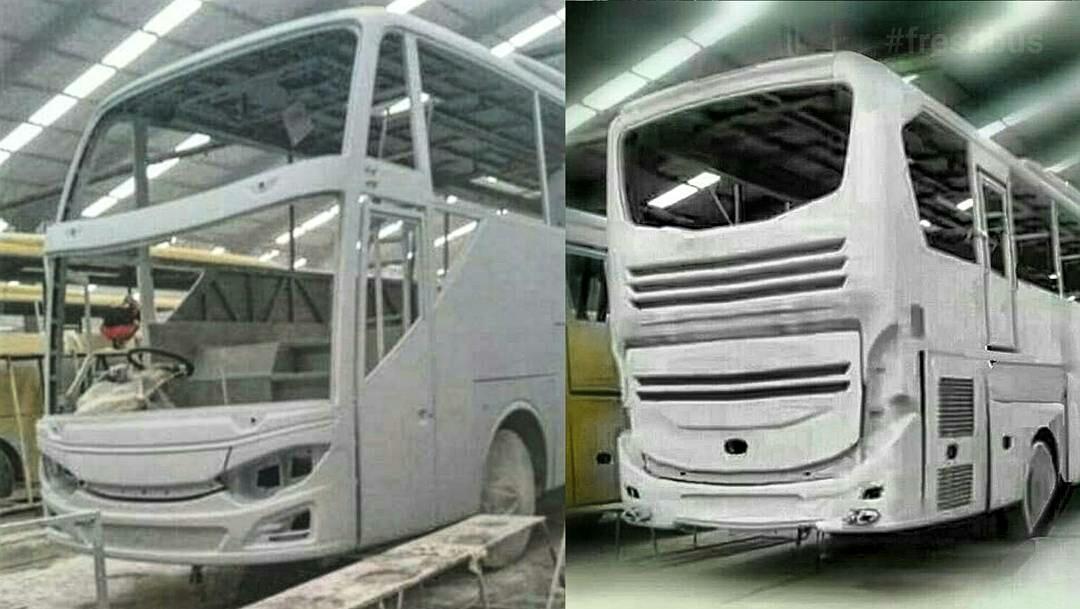 Penampakan Jetbus Shd 3 Karoseri Adiputro