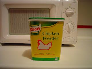 Poulet poussière (poudre de poulet)