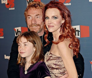 Danny Bonaduce with his ex-wife Gretchen and their daughter