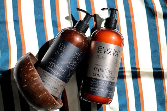 Eveline organic gold pielęgnacja włosów