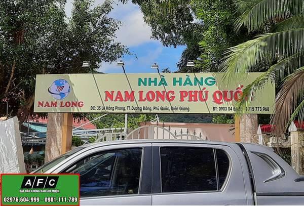 Thiết kế thi công bảng hiệu tại Phú Quốc