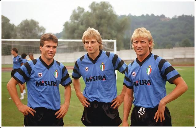 Matthaus Klinsmann Brehme Internazionale