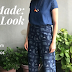 Me Made : New Look 6459 culottes in Denim from Brave Fabrics
