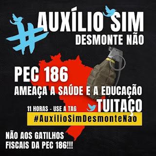 ANDRÉ FIGUEIREDO - AUXÍLIO SIM, DESMONTE NÃO