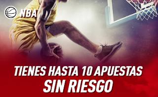 sportium 10 apuestas sin riesgo 10€ Promo NBA hasta 27-10-2019