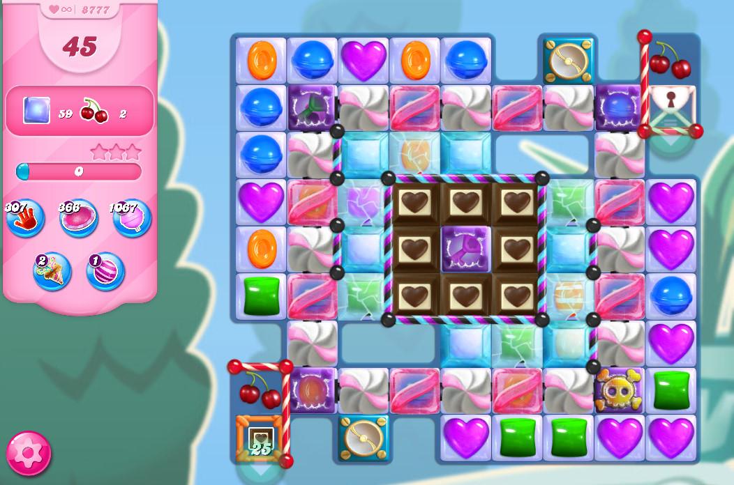 Candy Crush Saga level 8777