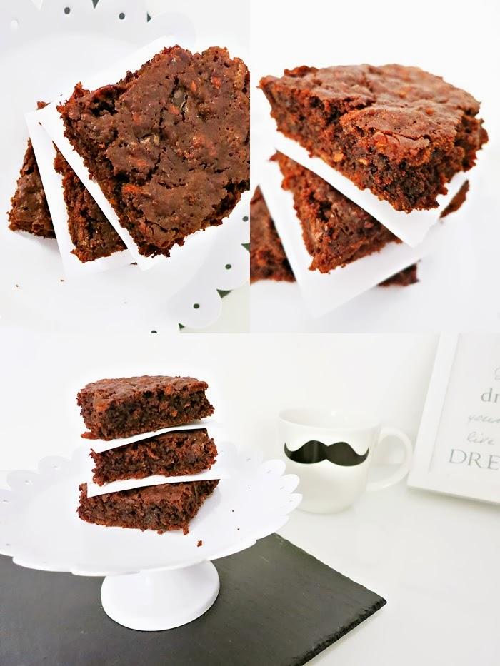 Karotten-Schokoladen Brownies mit Vanilla Bitter