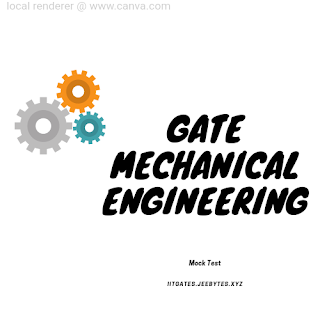 GATE MECHANICAL ENGINEERING MOCK TEST With Hints& Solution [PDF]