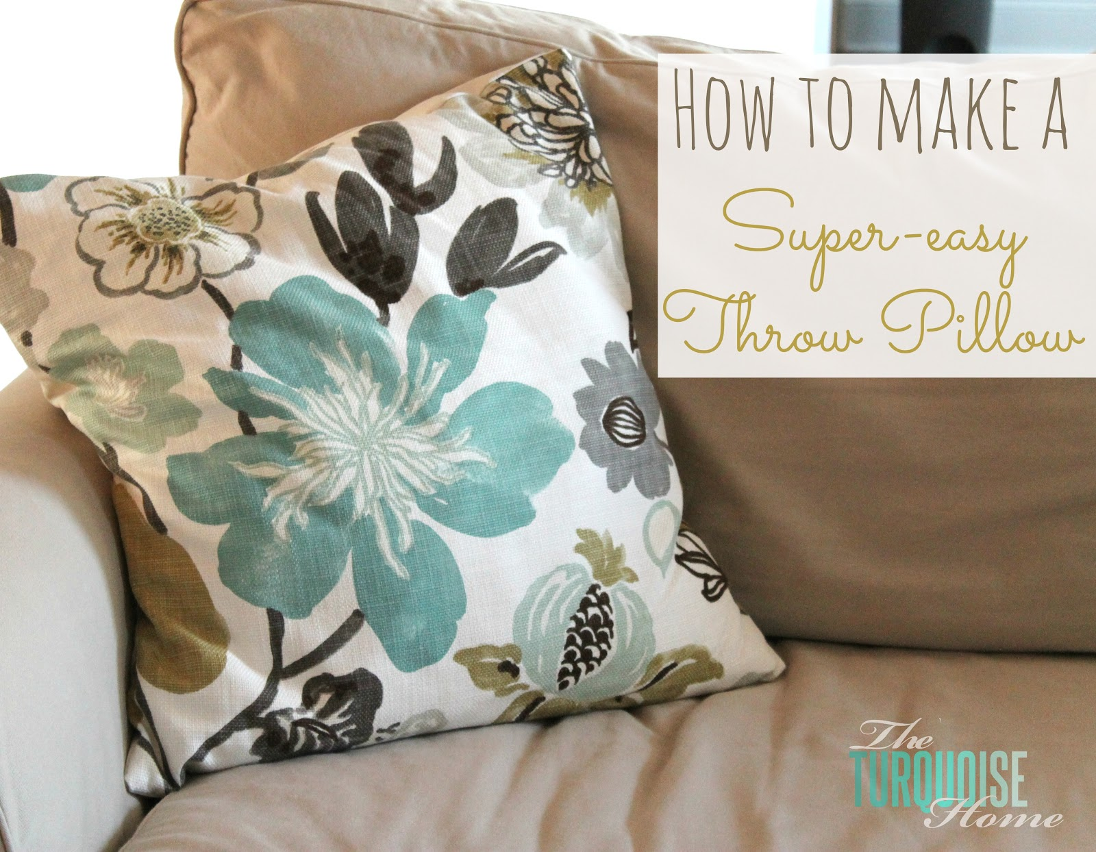 Diy Decorative Throw Pillows