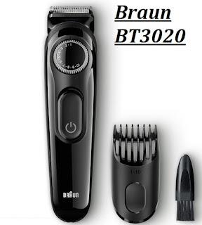 Braun BT3020 Cordless Trimmer for Men –
