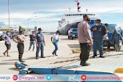 Antisipasi Masuknya Barang Terlarang, Polsek KPN Parepare Perketat Pengamanan di Pelabuhan Nusantara