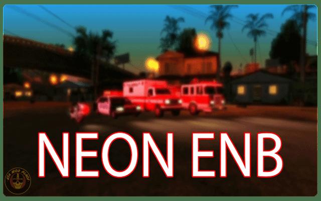 GTA San Andreas ENB Chrome light Mod