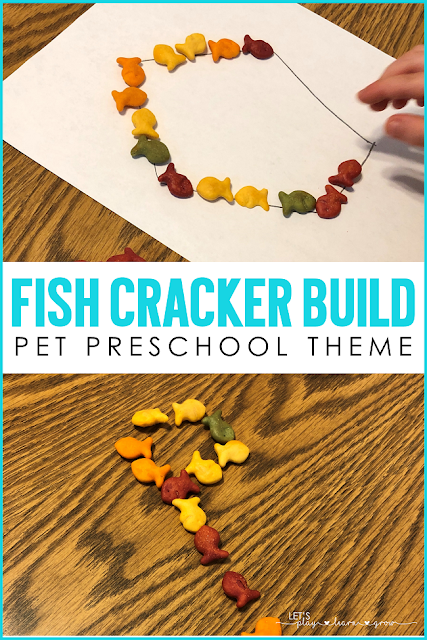 Letter activities for pet theme