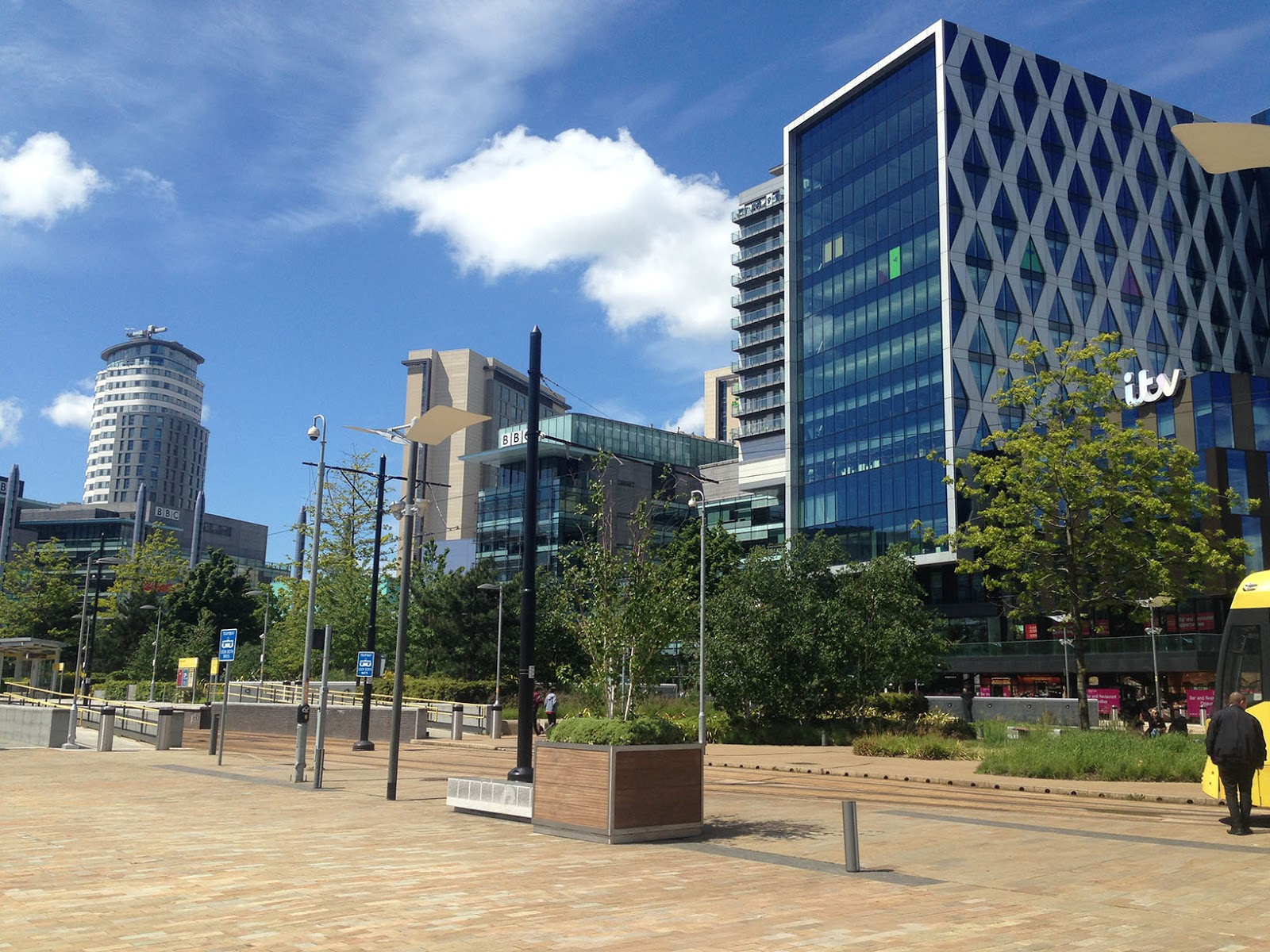Running Routes: Manchester Salford Quays Running Route