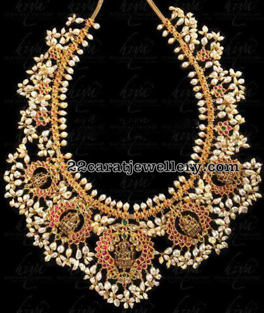 Lakshmi Guttapusalu Set by Hiya Jewellers