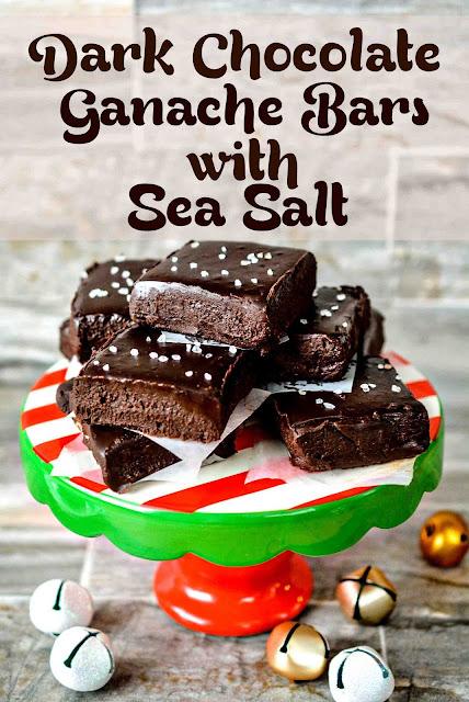Theresas Mixed Nuts Dark Chocolate Ganache Bars with Sea