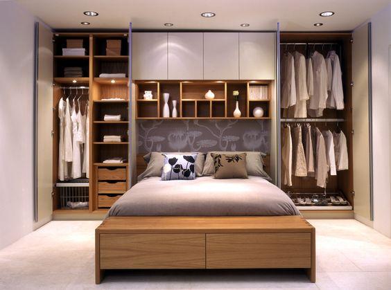 Beautiful bedroom wardrobe