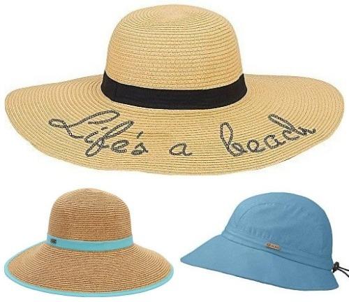Life's a Beach Women's Sun Hats