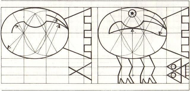 Diseño de los Pelícanos de la ciudadela de Chan Chan