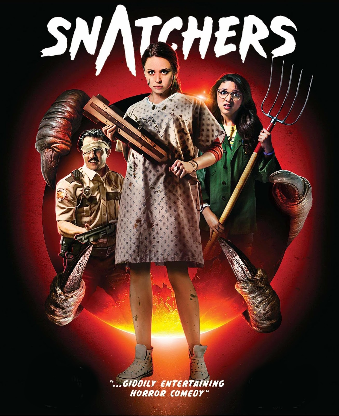 Snatchers [2019] [CUSTOM HD] [DVDR] [NTSC] [Latino]
