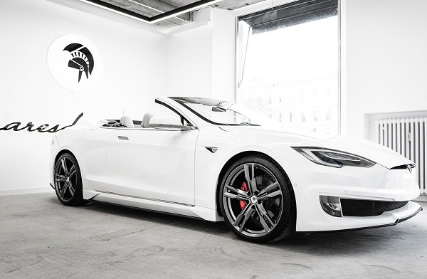 Tesla Model S descapotable Ares Design