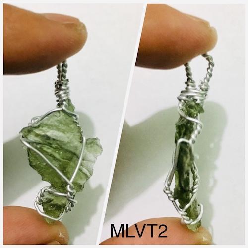 Genuine Raw Moldavite Pendant (MLVT2)   Philippines