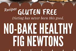 No-Bake Healthy Gluten free Fig Newtons #glutenfree